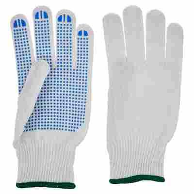 Universal Handschuhe mit Grip weiß Gr. 9/L 10 Paar
