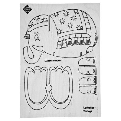 laubs gevorlage elefant toom baumarkt. Black Bedroom Furniture Sets. Home Design Ideas