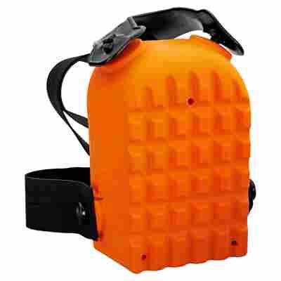Knieschoner Kastenform orange