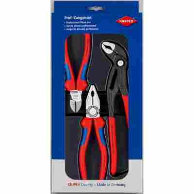 Werkzeug-Set rot/blau 37 cm, 3-teilig