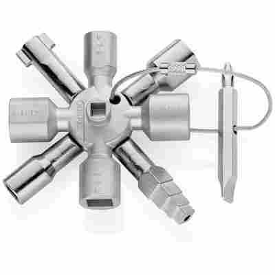 Universalschlüssel 'TwinKey®' für gängige Absperrsysteme 92 mm