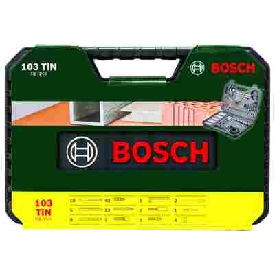 Bohrer- und Bit-Set 'V-Line' Titanium Box, 103-teilig