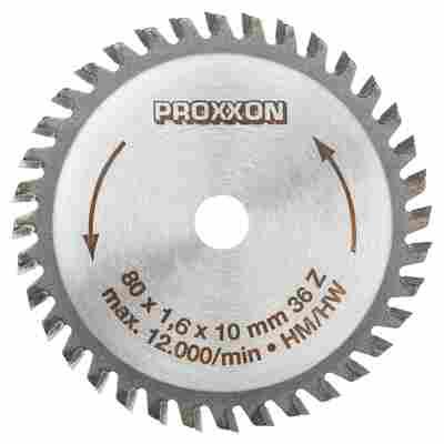 Kreissägeblatt 'Micromot' Ø 80 x 10 x 1,6 mm