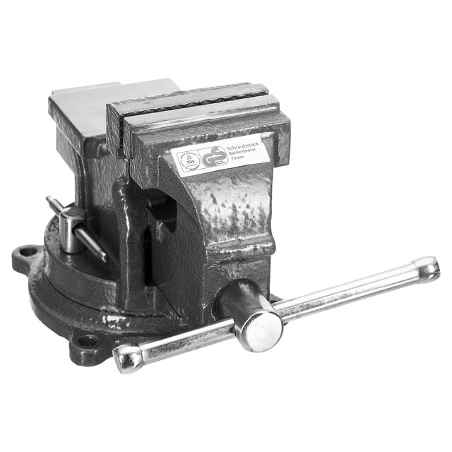 B1 Schraubstock 75 mm ǀ toom Baumarkt