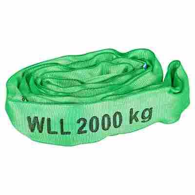 Rundschlinge grün 2.000 kg 200 cm