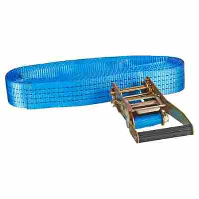 Zurrgurt blau 5 x 800 cm mit Ratsche