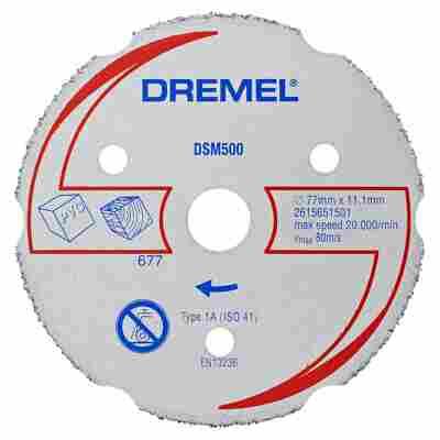 Trennscheibe DSM 500 silbern