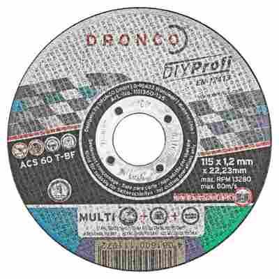 """Trennscheiben """"MultiCut"""" 10 Stück Ø 115 x 12 mm"""