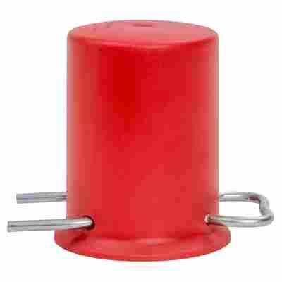 Ersatzschutzkappe für Propangasflaschen rot