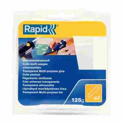 Rapid Klebesticks Transparent Ø 7 mm 125 g