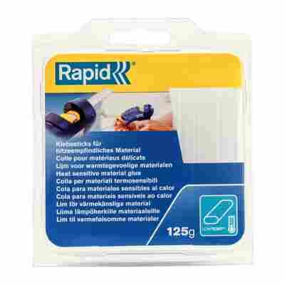 Rapid Niedertemperatur-Klebesticks Transparent 9 mm Oval 125 g