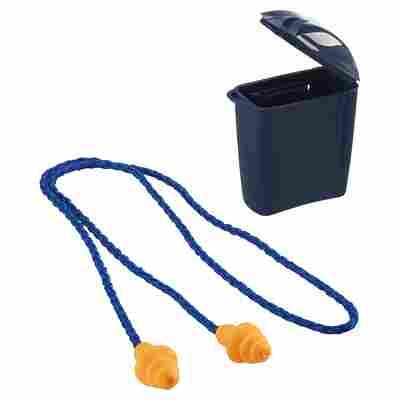 Gehörschutz mit Kordel und Plastikbox