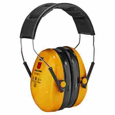 Kapselgehörschützer gelb 98 dB