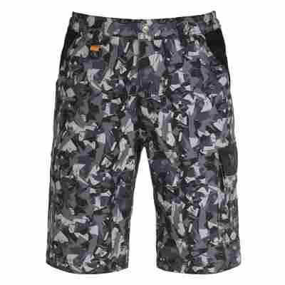 Shorts 'Teneré Pro' camouflage grau M