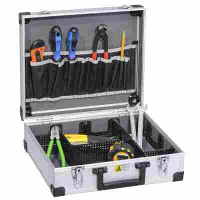 AluPlus Werkzeugkoffer 'Tool L 36' silber