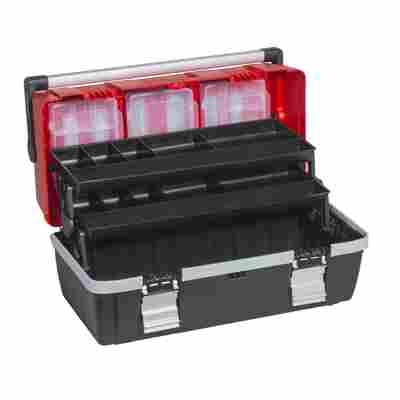 McPlus Profi-Werkzeugkoffer 'AluC22' rot/schwarz