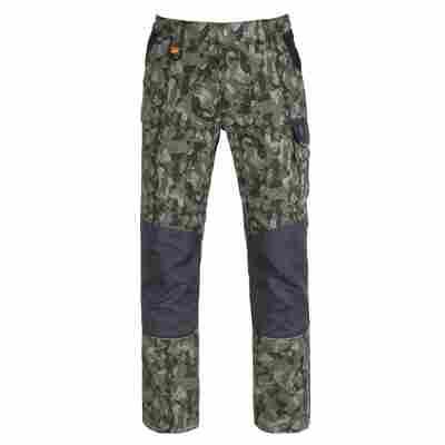 Bundhose 'Tenere Pro' camouflage/grün