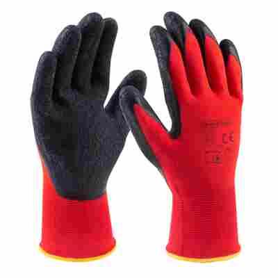 Handschuhe Latex rot Gr. 10/XL