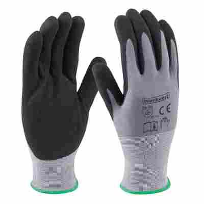 Handschuhe 'Comfort Super Plus' grau/schwarz Gr. 8/M