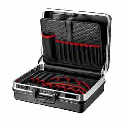 Werkzeugkoffer 'Basic' schwarz 46,5 x 41 x 20 cm