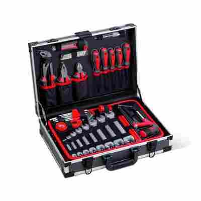 Werkzeugkoffer Aluminium 121-teilig