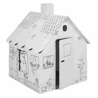 Spielzeug-Haus für Kinder 900 x 900 x1050 mm aus Pappe