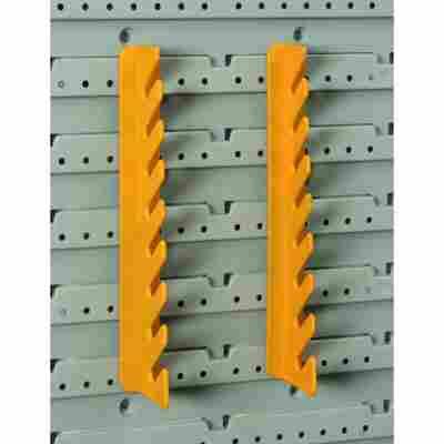 StorePlus Gabel/Ringschlüsselhalter 'Flex P 8' gelb