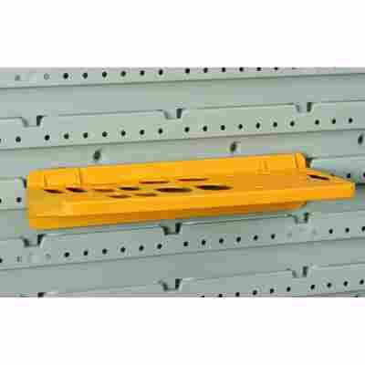 StorePlus Universalwerkzeughalter 'Flex P 24' gelb 23 x 9,5 x 4,5 cm