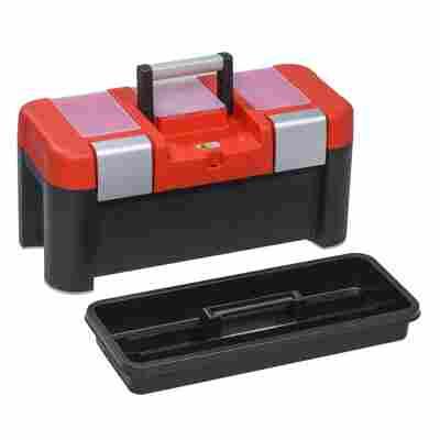 McPlus Profi-Werkzeugkoffer 'Alu 21' rot/schwarz