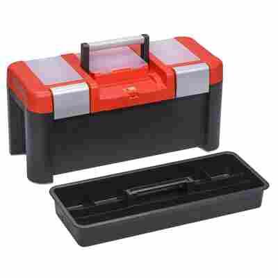 McPlus Profi-Werkzeugkoffer 'Alu 25' rot/schwarz 64 x 29 x 29,5 cm
