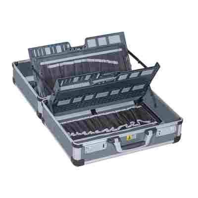 Service- und Montagekoffer AluPlus Service C 44-2 anthrazit 44,5 x 37 x 21 cm