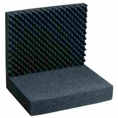 Noppen- und Rasterschaumstoff 'AluPlus Foam 44/2' 2-teilig, 43 x 33 x 12 cm