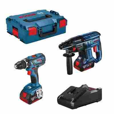 2 Tool Kit GSR 18V-28 + GBH 18V-21