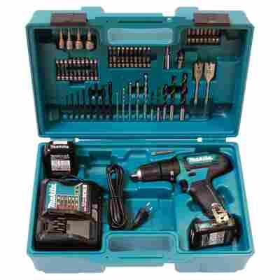 Akku-Schlagbohrschrauber-Set 'HP333DSAX1' 12 V, 78-teilig