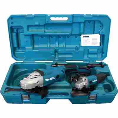 Winkelschleifer-Set 'DK0052G' mit 2 Winkelschleifern, in Transportkoffer