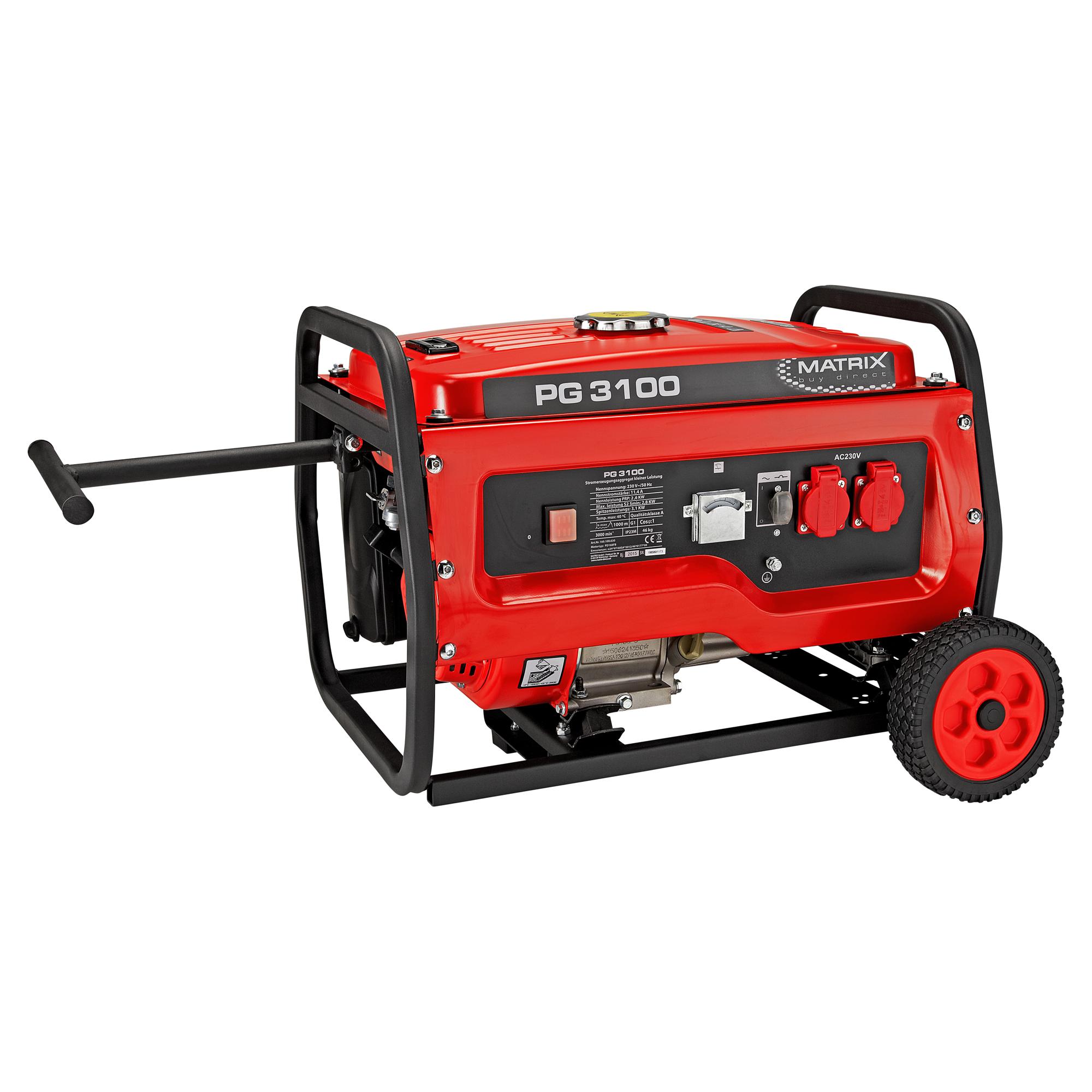 stromgenerator pg 3100 ǀ toom baumarkt