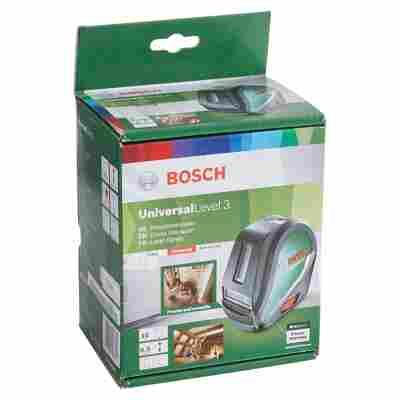 Bosch Kreuzlinienlaser Universal Level 3