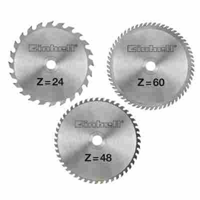 Hartmetall-Sägeblattset 210 x 30 x 2,5 mm im Alu-Koffer