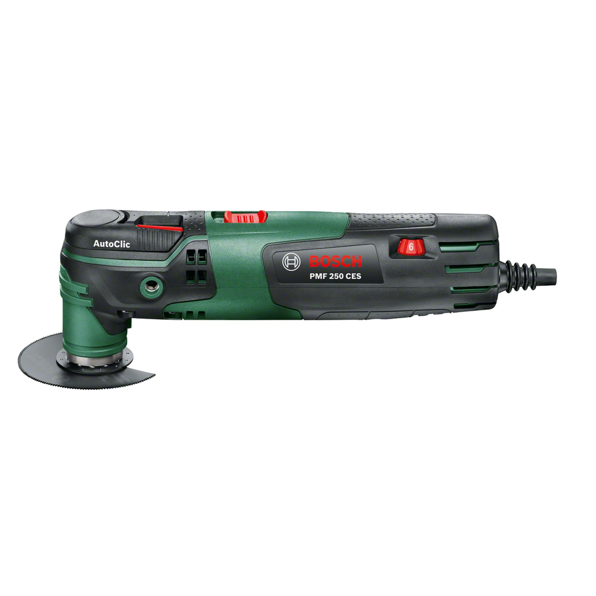 Bosch Multifunktionswerkzeug 'PMF 250 CES' inkl. Zubehör ǀ