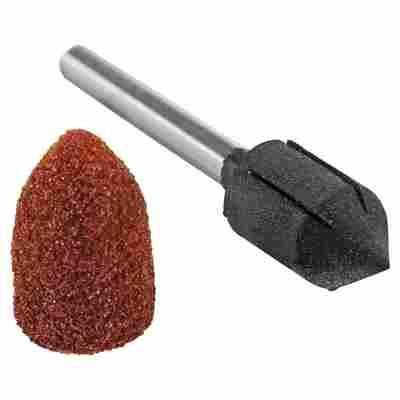 "Schleifkappenträger mit Schleifkappen ""Micromot"" K80/K150 Ø 9 mm 10 Stück"