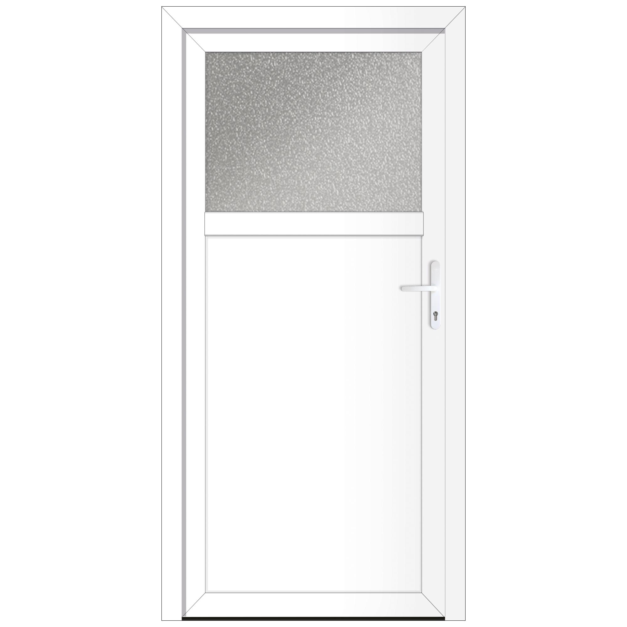 Dreh Kipp wei/ß LAGERWARE Fenster DIN rechts BxH: 100 x 200 cm // 1000 x 2000 mm T/ür Kunststoff Balkont/ür