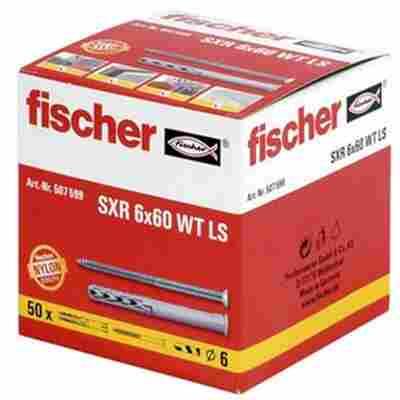 fischer Langschaftdübel SXR 8 x 80 WT LS 25 Stück
