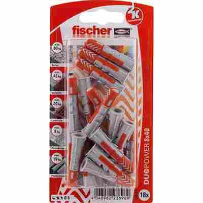 fischer DUOPOWER 8 x 40 18 Stück