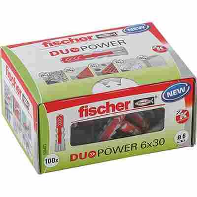 fischer DUOPOWER 6 x 30 LD 100 Stück