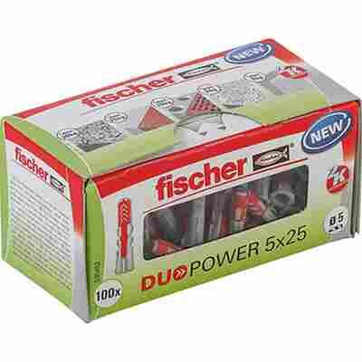 fischer DUOPOWER 5 x 25 LD 100 Stück