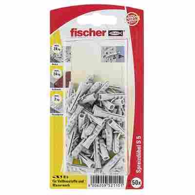 fischer Dübel S 5 50 Stück