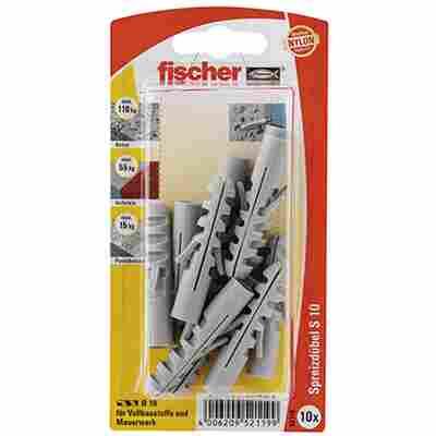 fischer Dübel S 10 10 Stück
