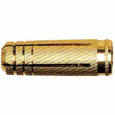 Messing-Spreizdübel 'MS' Ø 8 x 22 mm, 100 Stück