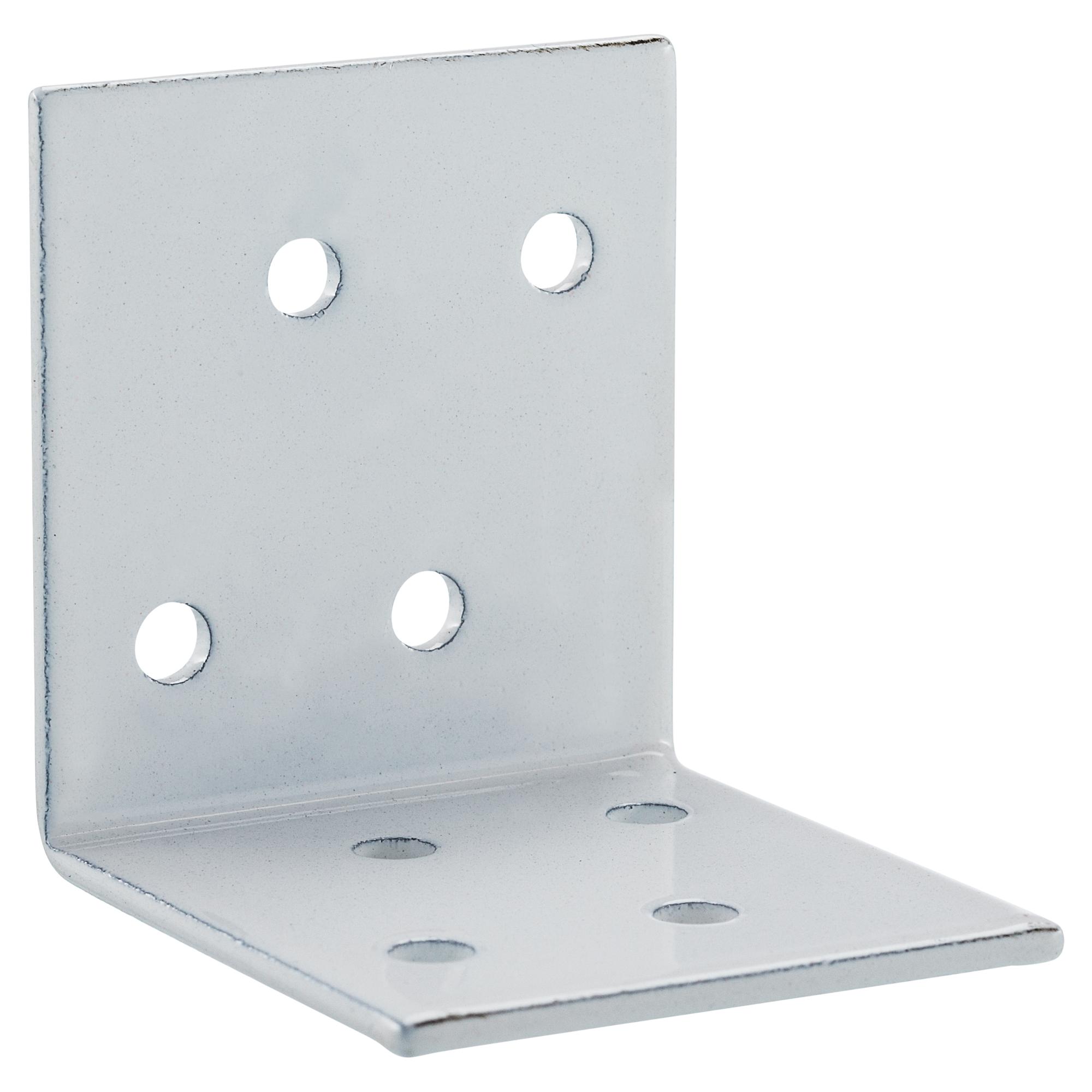 15x Lochplattenwinkel Winkelverbinder Winkel Stuhlwinkel verzinkt 60x60x40