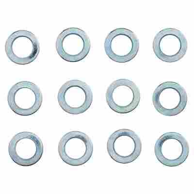 Türbandringe silbern 12 Stück Ø 7/13 mm